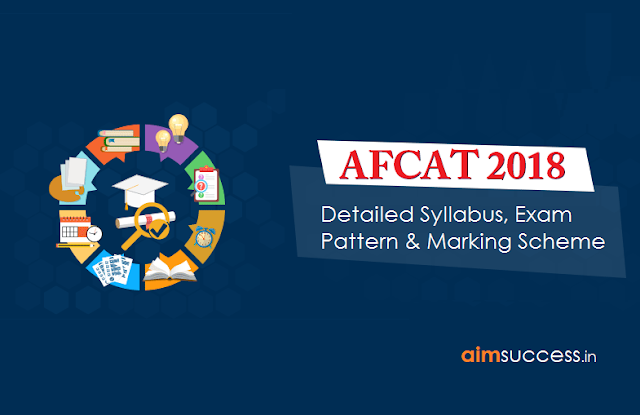 AFCAT 2018: Detailed Exam Pattern & Syllabus