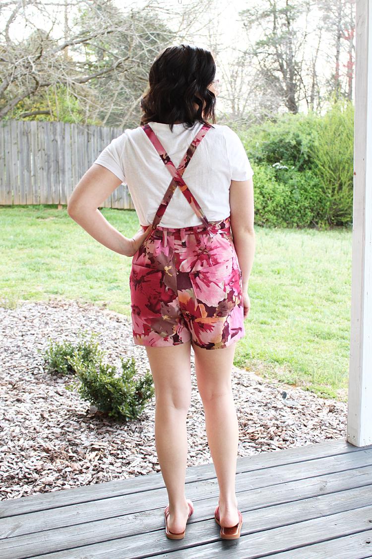 Burnside Bib Shorts // Sewing For Women