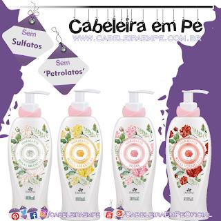 Loção Hidratante Rosas - Davene (Sem Sulfatos e Sem Petrolatos) - Rosa, Vermelha, Amarela e Branca