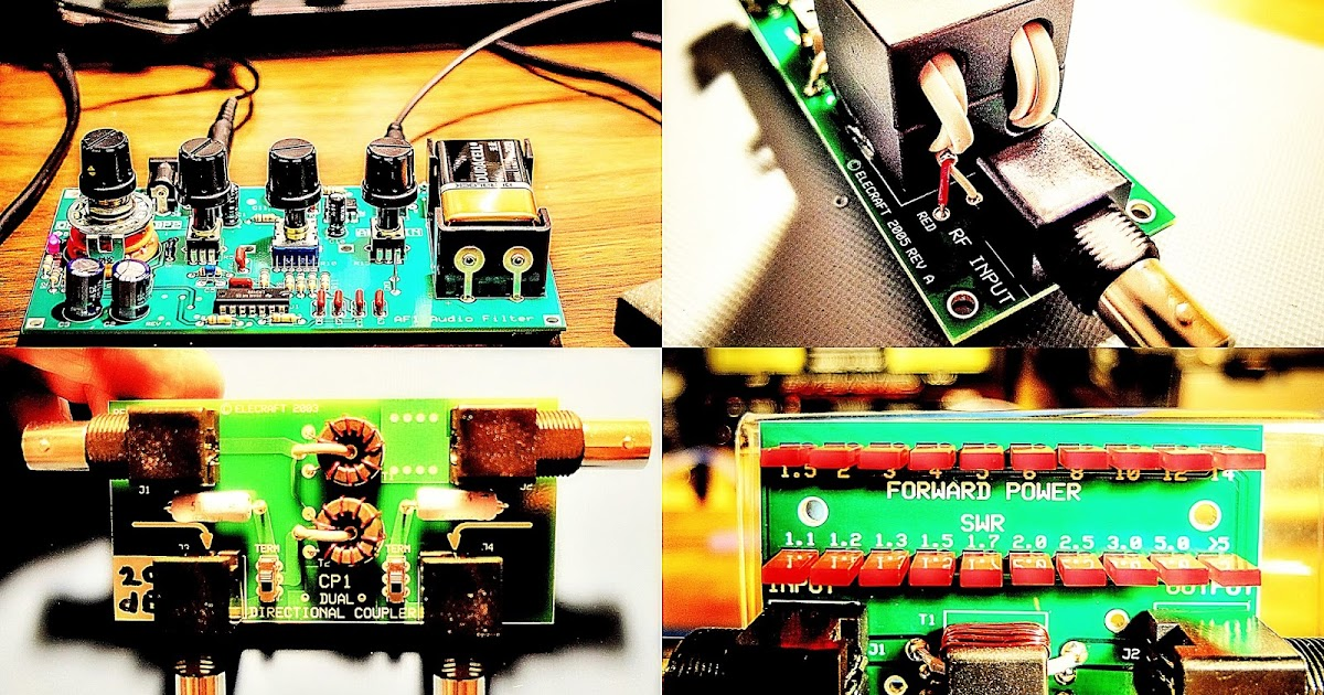 Ham radio qrp making use of elecraft mini module kits freerunsca Images