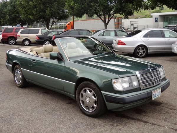 5k W124 Ragtop 1993 Mercedes Benz 300ce Cabriolet