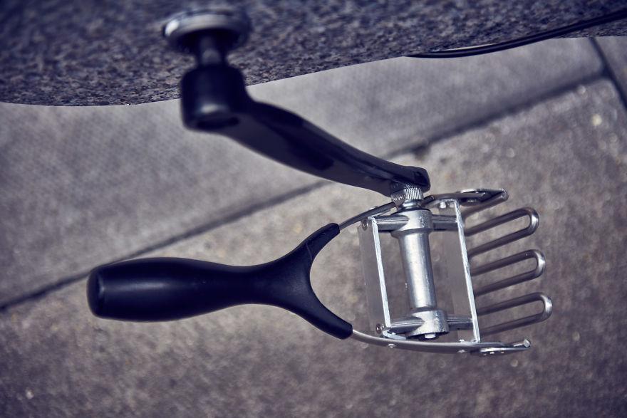 Keren! Sepeda Ini Dibuat Dari Perlengkapan Dapur