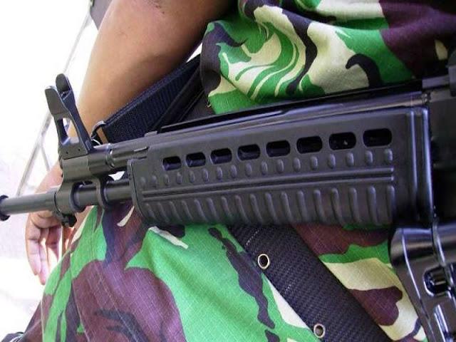 Tergelincir Saat Patroli di Perbatasan RI-PNG, Seorang Prajurit Luka Tembak