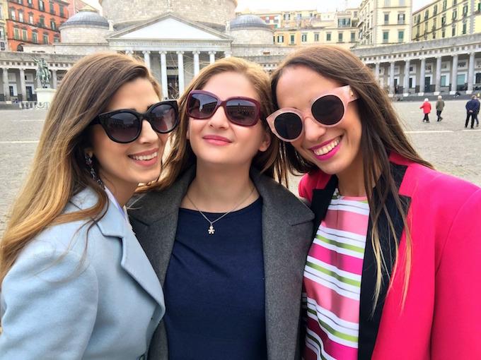 Bencivenga Grand Tour: Napoli, bloggers a piazza del Plebiscito
