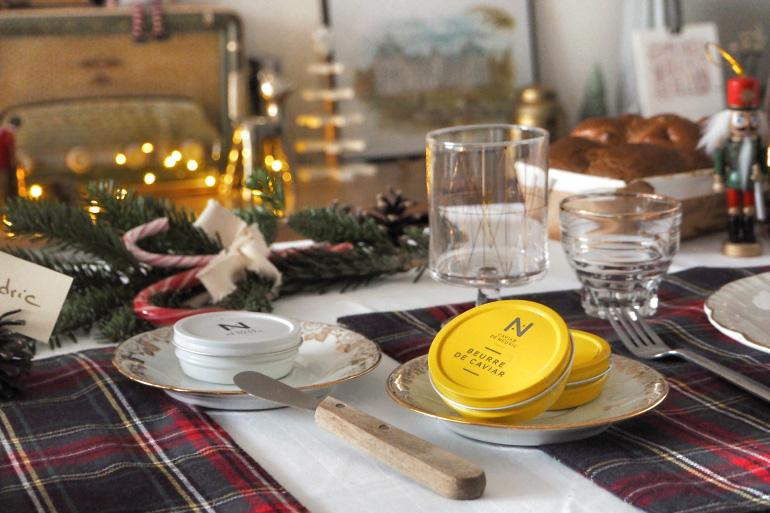 Beurre de truffe et beurre de caviar pour les fêtes de Noël