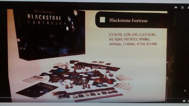 Blackstone Fortress precio