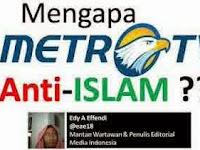 Jangan Heran Jika MetroTV Sering Sudutkan Islam, Ini Kesaksian Menggemparkan 2 Mantan Senior Produser
