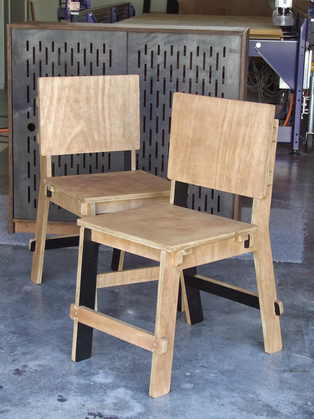 cnc 4 u nz: Plywood chairs