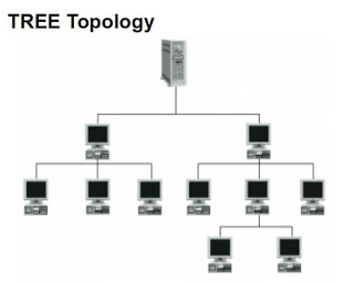 Tree network Topology diagram
