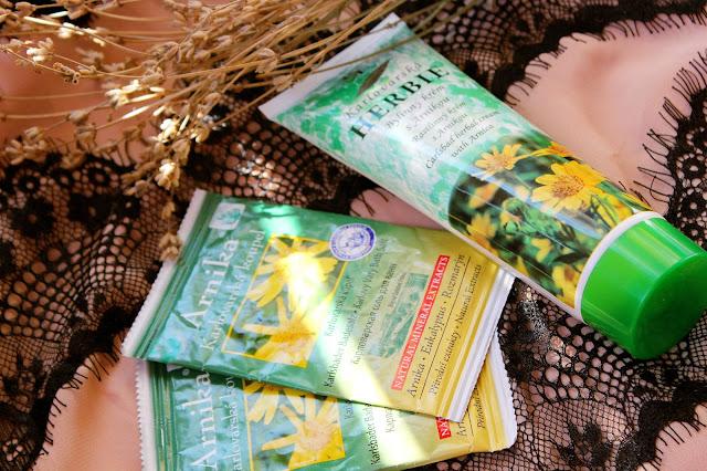Отзыв: Карловарская косметика. Крем с экстрактом целебных трав HERBIE arnica и Соль для ванн ARNIKA.