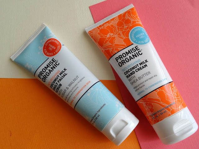 Promise Organic Nourishing Coconut Milk Daily Facial Scrub and Hand Cream