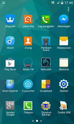 ROOM SAMSUNG s6 by: array putra kuningan