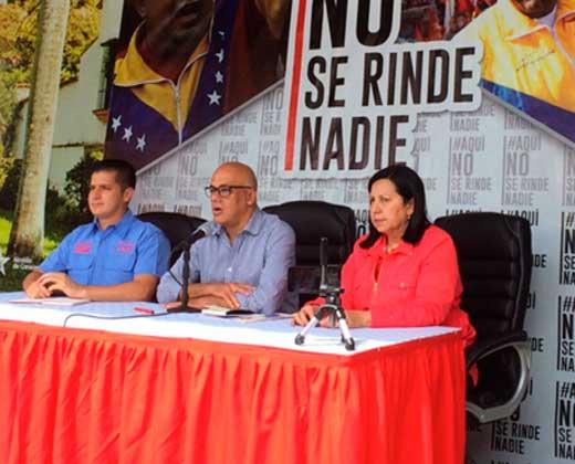 Rodríguez: Es imposible que se realice el referéndum con 605 mil registros invalidados y 8.600 demandas