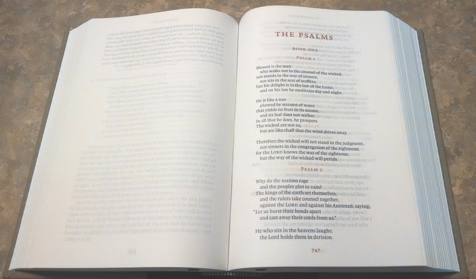 In Progress: ESV Reader's Bible Review, with Notes on the ...