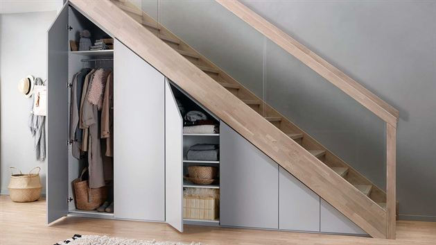 Minimum Functional Storage Organize Under Stairs Cabinets For Small E Saving Solutions