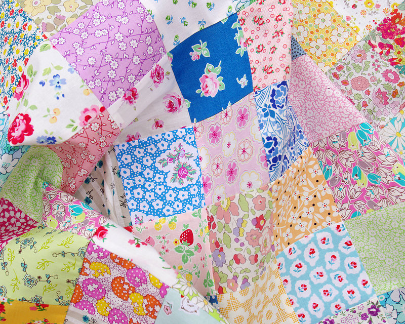 Pretty Patches - A Custom Order Quilt in Progress | Red Pepper Quilts