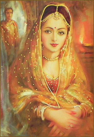 Bubuji Khanum, queen of Yusuf Adil Shah