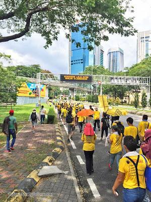 bersih 5 rally march