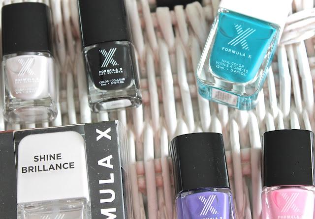 Formula X Nail Polishes