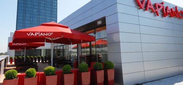 Típico restaurante Vapiano (no es el de Stuttgart)