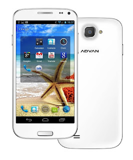 Cara Flash Advan S5J Bootloop