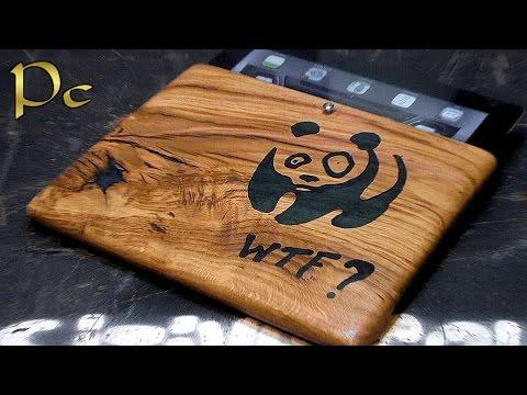 DIY ipad case made of oak - DO IT YOURSELF