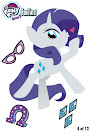 MLP Tattoo Card 4 Series 5 Trading Card