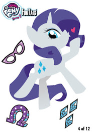 My Little Pony Tattoo Card 4 Series 5 Trading Card
