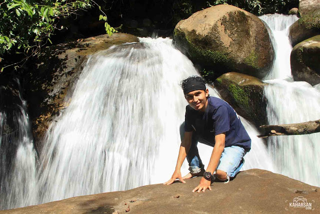 Saya Tingkat 1 Air Terjun Tengai' Wisata Kec Nanga Mahap Kab Sekadau - kaharsan