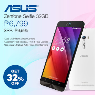 ASUS Zenfone Selfie SALE at Lazada