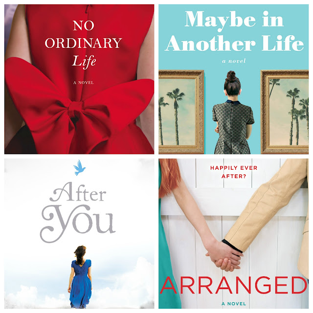 Book reviews of: No ordinary life, Maybe in another life, After you and Arranged.