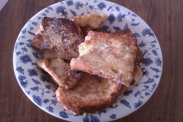 sweet kwisine, Pain perdu, french toast, vanille