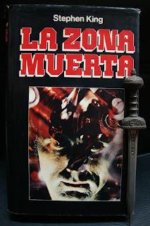 Portada del libro La zona muerta, de Stephen King