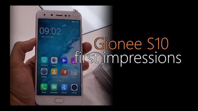 Gionee S10