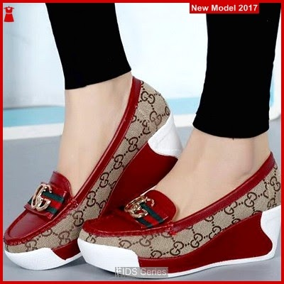 FIDS006 Sepatu Wanita Slipon Gucci Import BMGShop