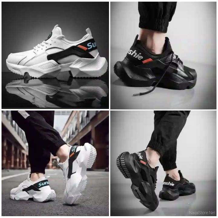 Sunshie Men's Sneakers: Fashion Trendy INS Running Shoes