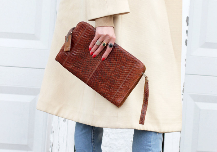 Chic Weekend Bags Under $100 Vintage Bag