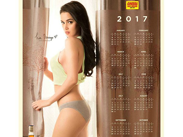 Bring these Kim Domingo 2017 Ginebra calendars into your home this Christmas