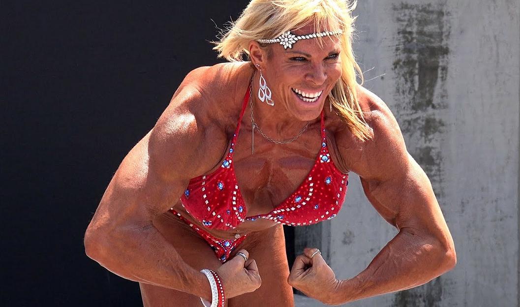 Big Female Bodybuilder Lauren Powers, Biography