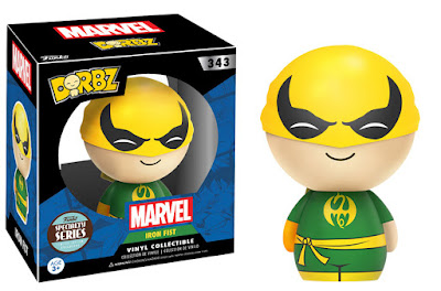 Specialty Series Exclusive Marvel's Iron Fist Dorbz Vinyl Figure by Funko
