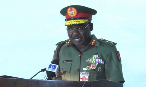 Boko Haram using drones, foreign fighters to carry out attacks – Buratai
