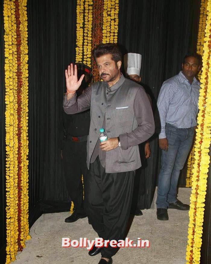 Anil Kapoor, Photos from Amitabh Bachchan's Diwali Bash 2014