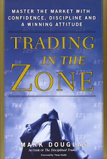 Trading in the Zone by Mark Douglas book cover