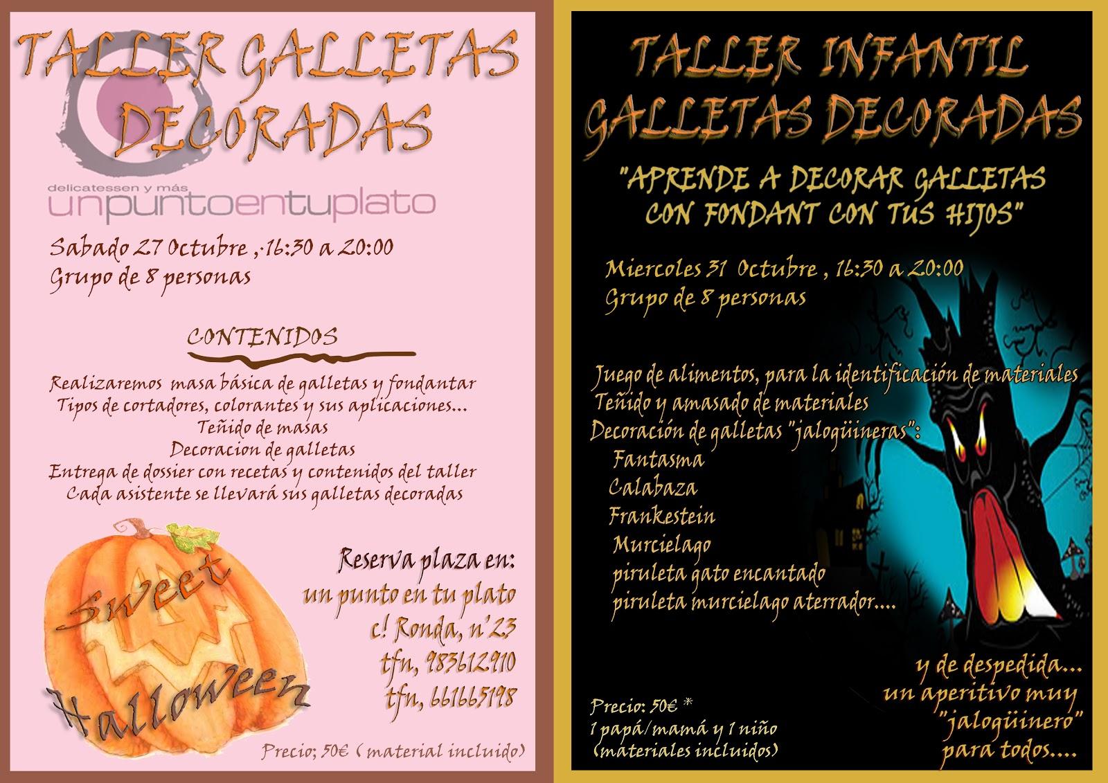 Taller Galletas Decoradas Halloween