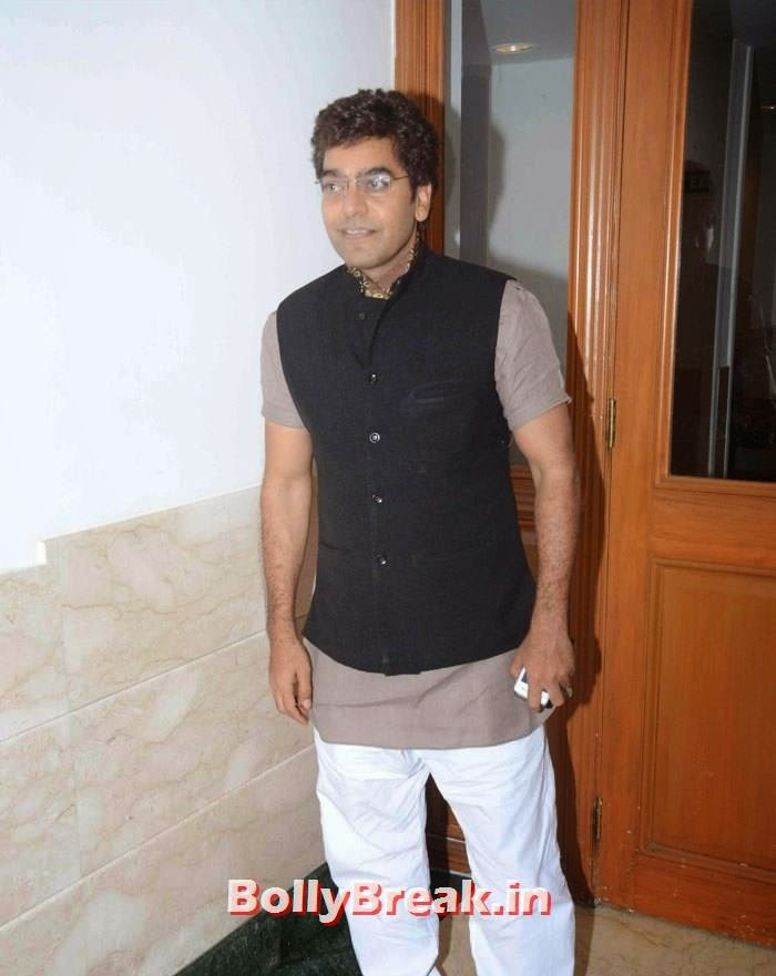Ashutosh Rana, Kunickaa Sadanand Lall Latest Hot Pics from New Talk Show