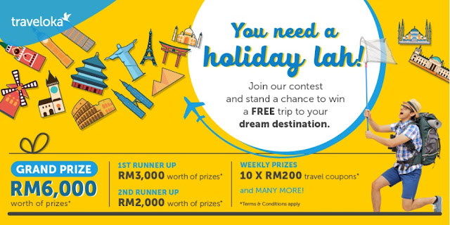 contest traveloka you need a holiday lah