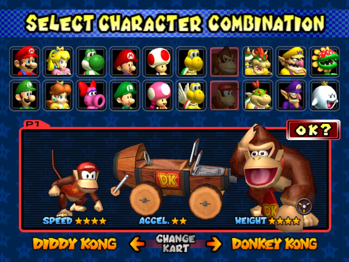 Corona Jumper Mario Kart Double Dash Gamecube 2003