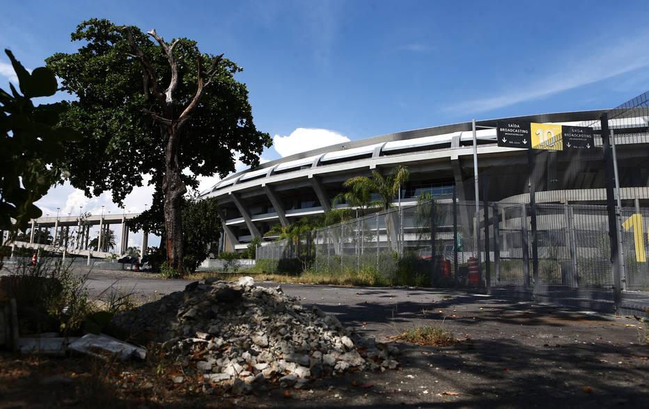 O mais icônico estádio do futebol brasileiro, cuja reforma para a Copa do Mundo de 2014 consumiu mais de R$ 1,2 bilhão em recursos públicos, está abandonado. Foto: Fabio Motta / Estadão
