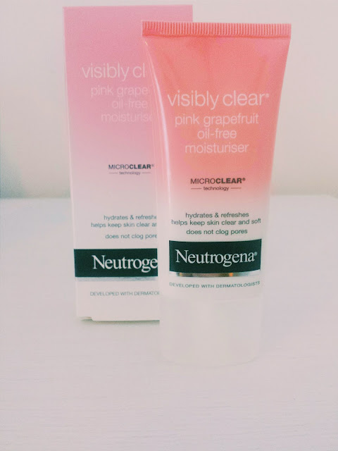 Neutrogena Visibly Clear Pink Grapefruit Oil Free Moisturiser