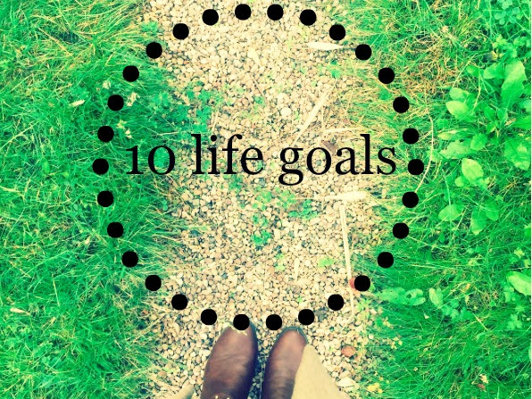 10 of my life goals